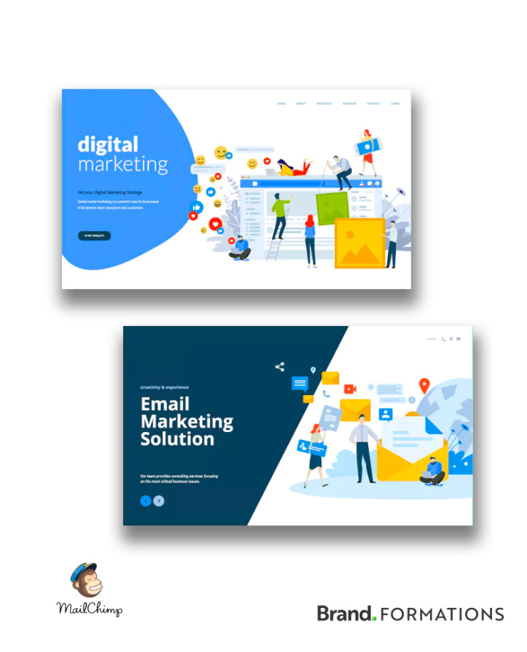 Professional Mail Chimp Design