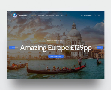 Website Design Travel